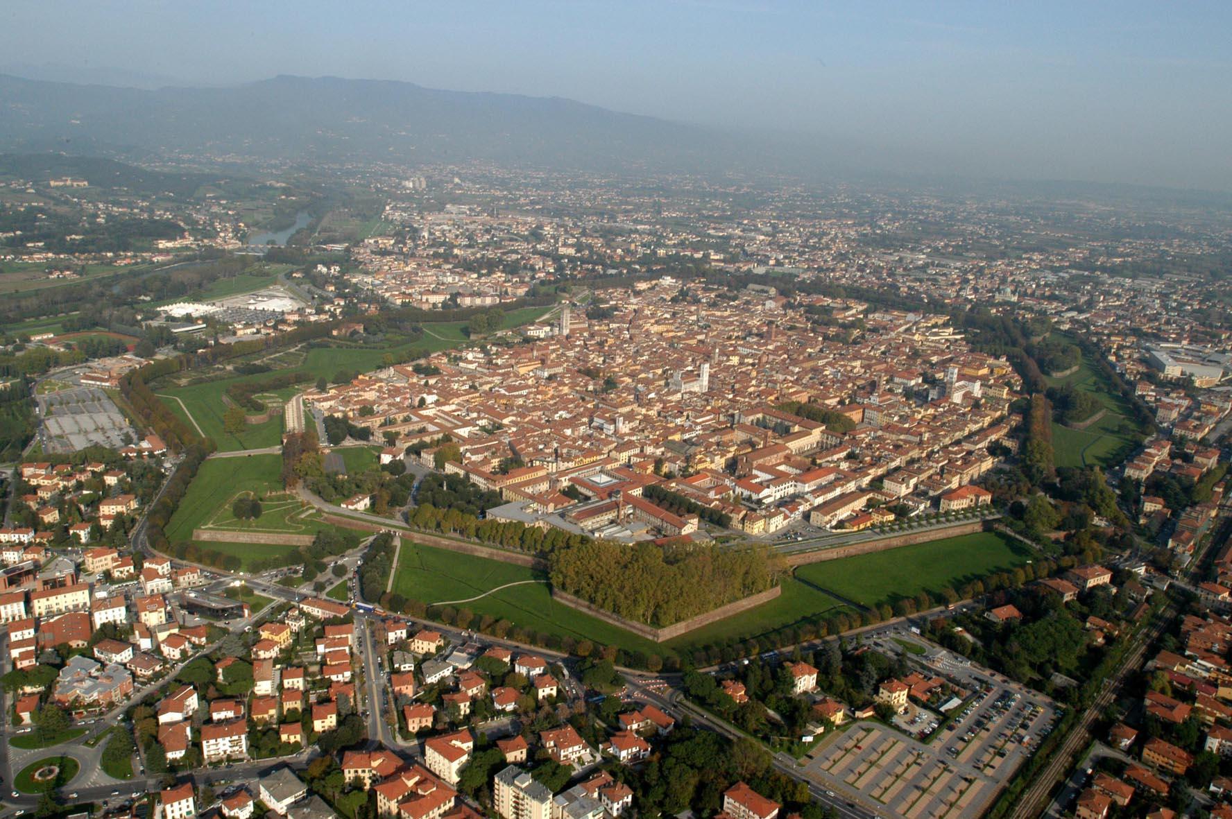 Lucca come un diamante nella natura